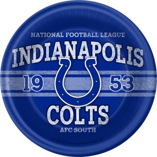 NFL Indianapolis Colts Dinner Plates