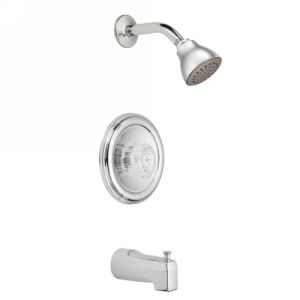 Moen 2353 Chateau Single Handle Tub & Shower Trim Kit, without Valve
