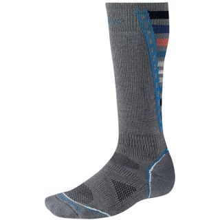 SmartWool PhD Light Snowboard Socks   Merino Wool (For Men and Women)   BLACK (L )