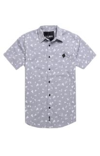 Mens Lira Shirt   Lira Scattered Short Sleeve Woven Shirt