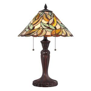 Quoizel TF1428T Tiffany Gardner Tiffany Table Lamp