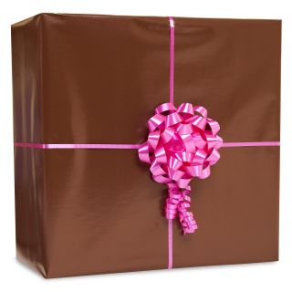 Chocolate Brown Gift Wrap Kit