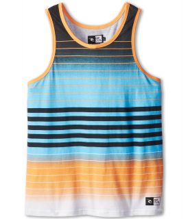 Rip Curl Kids Big Trippin Tank Top Boys Sleeveless (Orange)