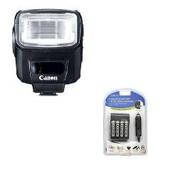 Canon Speedlite 270EX II Flash for Canon SLR Cameras Super Savings Kit
