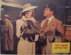 The Cheap Detective (Original Lobby Card   #2) Movie Poster