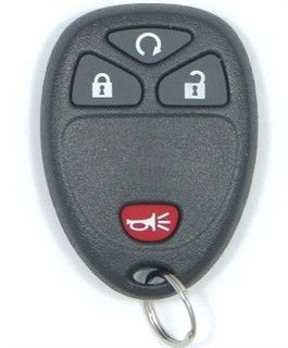 2008 Saturn Vue Keyless Entry Remote w/Remote start   Used