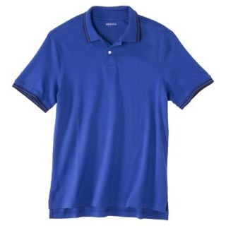 Mens Classic Fit Polo Shirt BLUE STREAK M