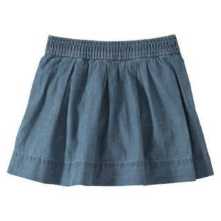 Burts Bees Baby Toddler Girls Skort   Chambray 3T