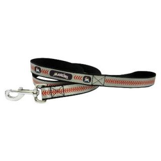 Miami Marlins Reflective Baseball Leash   L