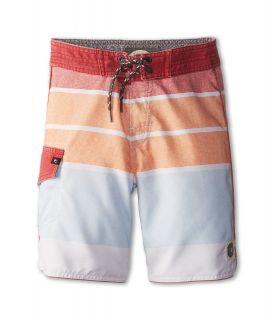Rip Curl Kids Pittsburg Scallop Boardshort Boys Swimwear (Orange)