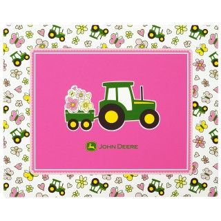 John Deere Pink Activity Placemats