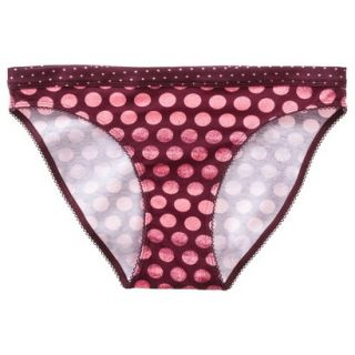 Xhilaration Juniors Cotton Bikini   Red XS