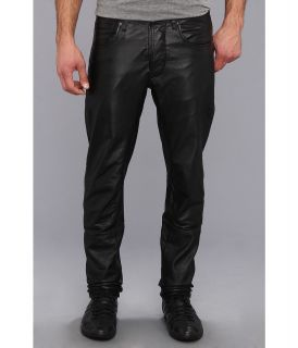 G Star Afrojack A Crotch Tapered Leather Pant Mens Casual Pants (Black)