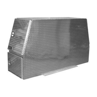 Buyers Products Aluminum Heavy Duty Backpack Truck Box   Diamond Plate, 82 Inch