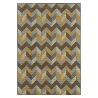 Heidi Chevron Indoor/Outdoor Accent Rug (37x56)