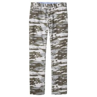Mossimo Supply Co. Mens Slim Fit Chino Pants   Mesa Gray Camouflage 34x30
