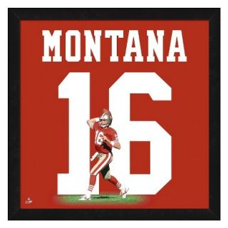 NFL San Francisco 49ers Joe Montana Framed Uniframe