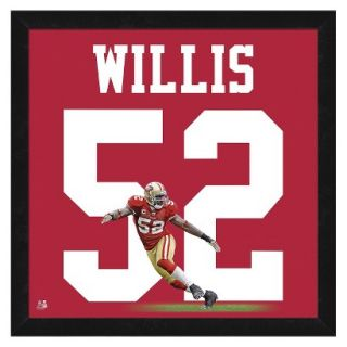 NFL San Francisco 49ers Patrick Willis Framed Uniframe