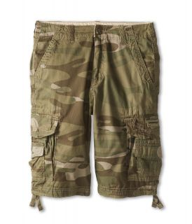 UNIONBAY Kids Cordova Cargo Camo Short Boys Shorts (Brown)