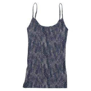 JKY by Jockey Womens Microfiber Stretch Cami 5540   Navy Dot Wave L