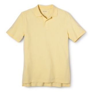 Mens Classic Fit Polo Shirt Popcorn Yellow S
