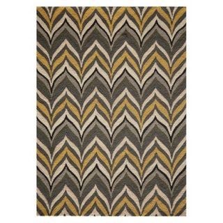 Barcelo Area Rug   Gold/Gray (5x7)