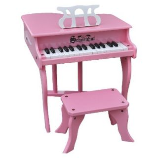 Schoenhut Fancy Baby Grand Piano   Pink