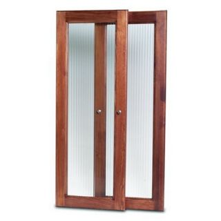 John Louis Home Deluxe Tower Door Kit   Red Mahogany