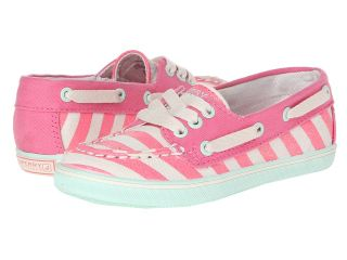 Sperry Top Sider Kids Cruiser Girls Shoes (Coral)