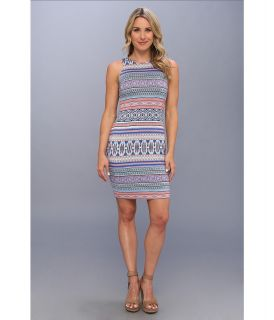 Karen Kane Halcyon Stripe Sleeveless Dress Womens Dress (Multi)