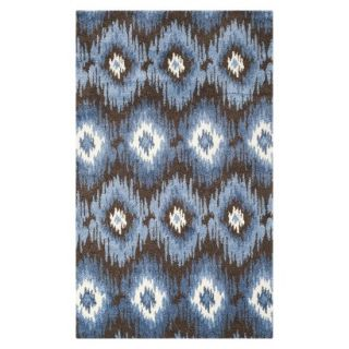 Safavieh Samira Area Rug   Dark Brown/Blue (5x8)