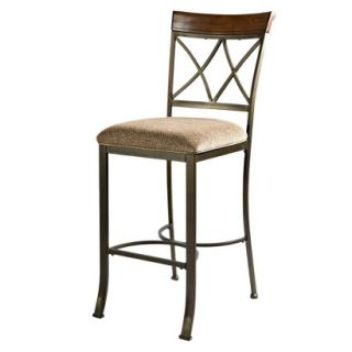 Barstool Powell Hamilton Dining Barstool   Brown