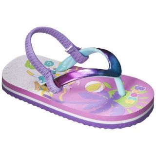 Toddler Girls Dora The Explorer Flip Flop Sandals   Multicolor M