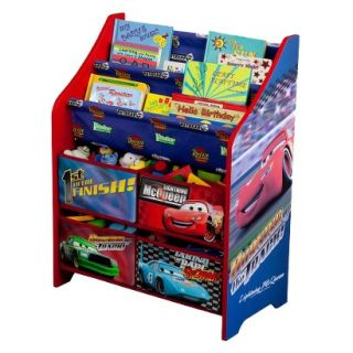 Kids Storage Unit Delta Childrens Products Book and Toy Organizer   Cars