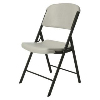 Folding Chair Lifetime Heavy Duty Folding Chair   Putty