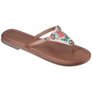 Girls Cherokee Freda Flip Flop Sandals   Brown 2