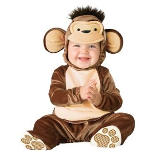 Mischievous Monkey Infant Toddler Costume   12 18 Months