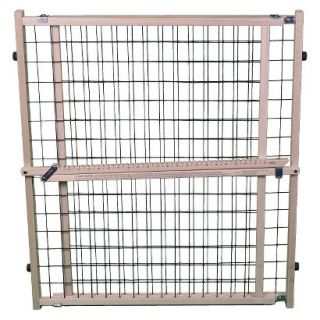 North States Extra  Wide Brown Wire Mesh Pet Gate