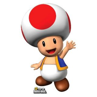 Super Mario Brothers Toad Standup