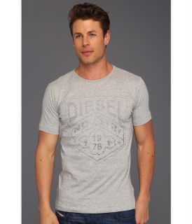 Diesel Industry R Tee Mens T Shirt (Gray)