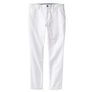 Mossimo Supply Co. Mens Vintage Slim Chino Pants   Fresh White 40X32