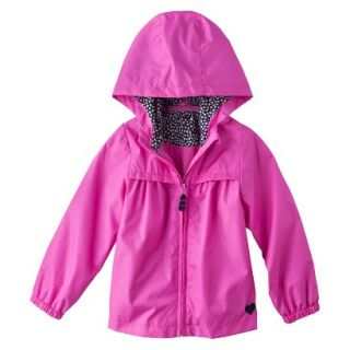 Just One You by Carters Infant Toddler Girls Windbreaker Jacket   Pink 12 M
