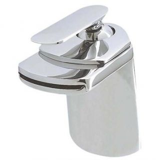 Paris 2 Single Hole Bathroom Faucet   Chrome