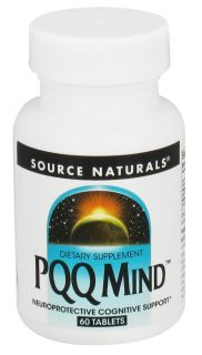 Source Naturals   PQQ Mind   60 Tablets
