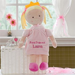 Personalized Princess Doll   Blonde