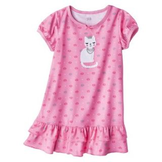 Just One You Made by Carters Infant Toddler Girls Short Sleeve Cat Nightgown