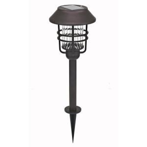 Hampton Bay Oil Rubbed Bronze Solar Path Lights (4 Pack) SGL 1238BZ 20 4