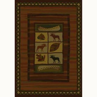 United Weavers Timberland 5 ft. 3 in. x 7 ft. 6 in. Contemporary Lodge Area Rug 130 24717 58