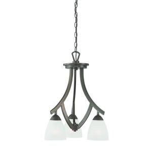 Thomas Lighting Charles 3 Light Oiled Bronze Chandelier DISCONTINUED TK0004715