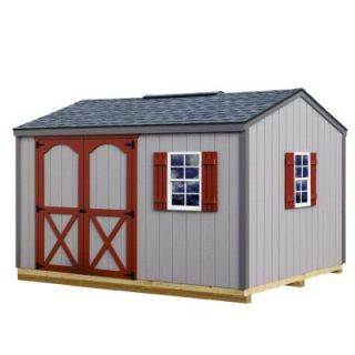 Best Barns Cypress 12 ft. x 10 ft. Wood Storage Shed Kit with Floor including 4x4 Runners cypress_1210df